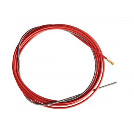 Канал стальной красный 1,0 - 1,2мм 3,4м