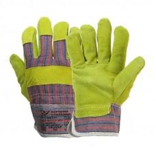 Перчатки комбинированые спилковые Ангара