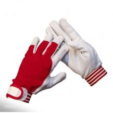 Перчатки кожаные комбинированные