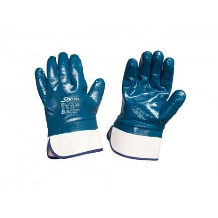 Перчатки с нитриловым покрытием крага