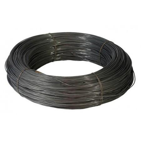 Проволока вязальная черная 6,0мм
