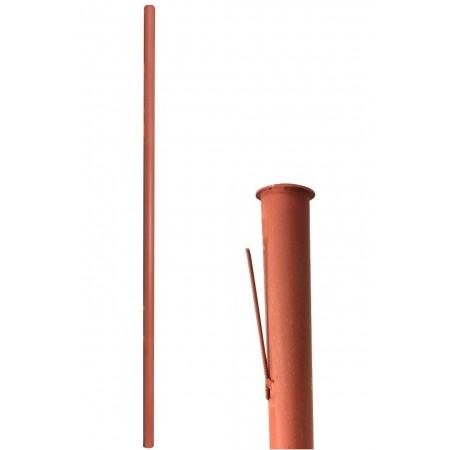 Столб металлический 2,3м диам. 40мм грунт